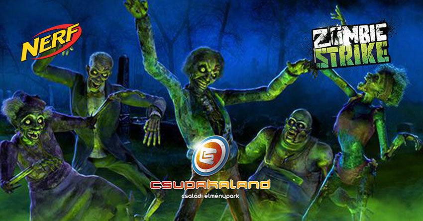 Bújjatok jelmezbe és vadásszatok igazi zombie-ra a Csupakaland Zombie City pályáján!