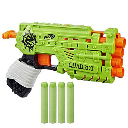 A Zombie Strike széria legújabb pisztoly típusú kilövője